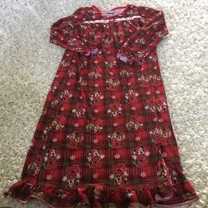 Disney Christmas Minnie Mouse gown sz 10